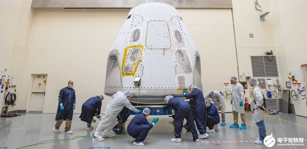 NASA表示SpaceX载人龙飞船首次载人试飞仍...