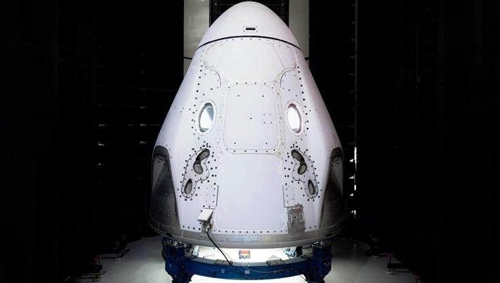 SpaceX首次载人试飞按计划进行 或5月份发射