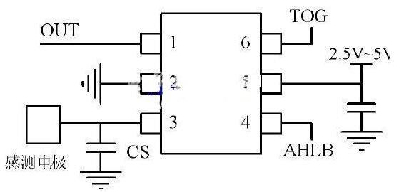 三款ttp223觸摸開關電路圖分享