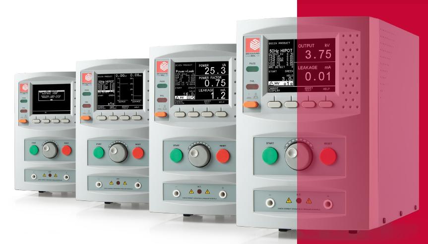适用于生产制造 产线检测的多功能电器安规测试仪SEAWARD HAL系列