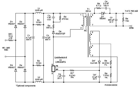基于一种高效率的LED驱动器电路设计