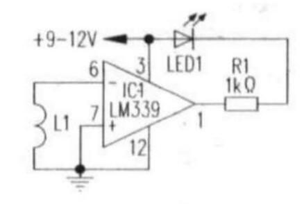 两款磁场检测电路图解析