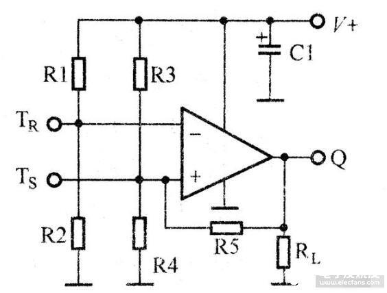 简单的双触发单稳电路图