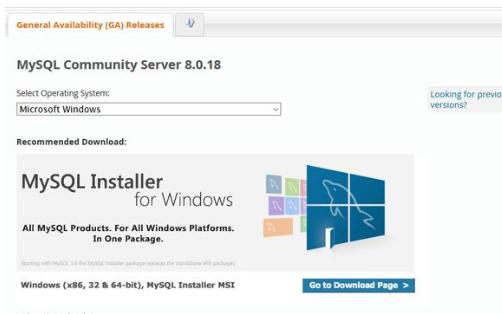 Windows10下安装MySQL8.0.18的五个步骤