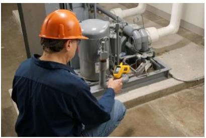 【福禄克应用】红外测温仪在暖通空调HVAC行业应用