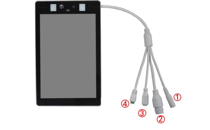 人體測溫人臉識別智能面板機的快速操作手冊