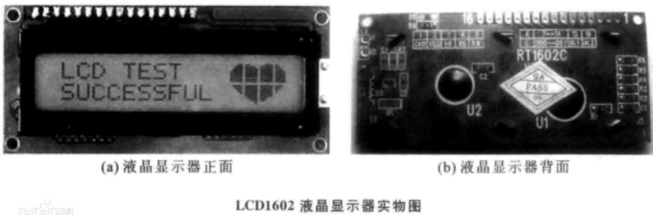 lcd1602液晶显示屏介绍_lcd1602引脚功能