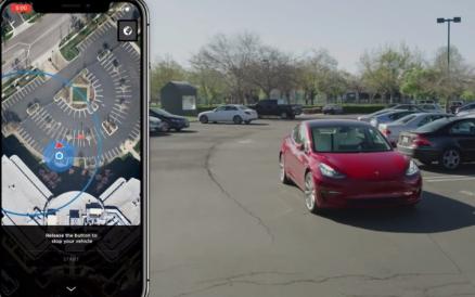 特斯拉汽车将实现反向智能召唤功能