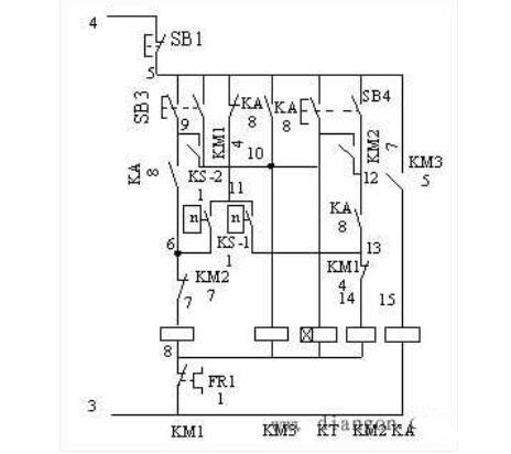C650卧式车床的电气操控原理图