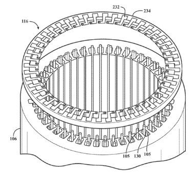 苹果汽车的三相交流感应电机专利曝光