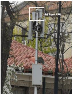 天津完成了首個5G Book RRU桿微站的部署測試