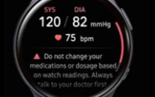 智能手表已經裝有各種用于測量生物特征的傳感器