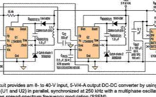 如何将两个转换器并联使得DC-DC转换器的负载电...
