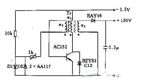 两款直流电压变换器电路图分享