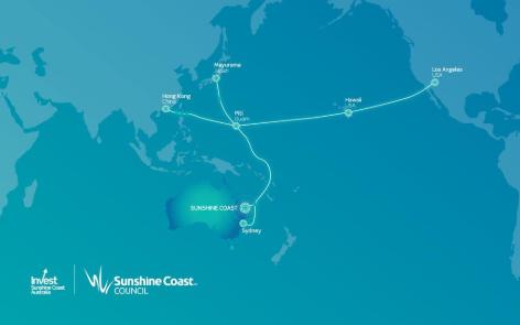 澳洲陽光海岸國際帶寬海纜系統將投產