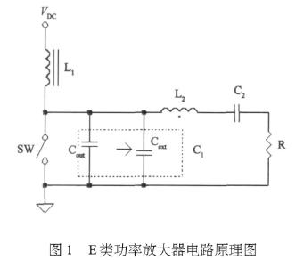 E类功率放大器电路的结构、原理及及并联电容的研究分析