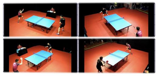 華為與中國體育和聯通攜手實現了乒乓球臺360度自由旋轉的優異體驗