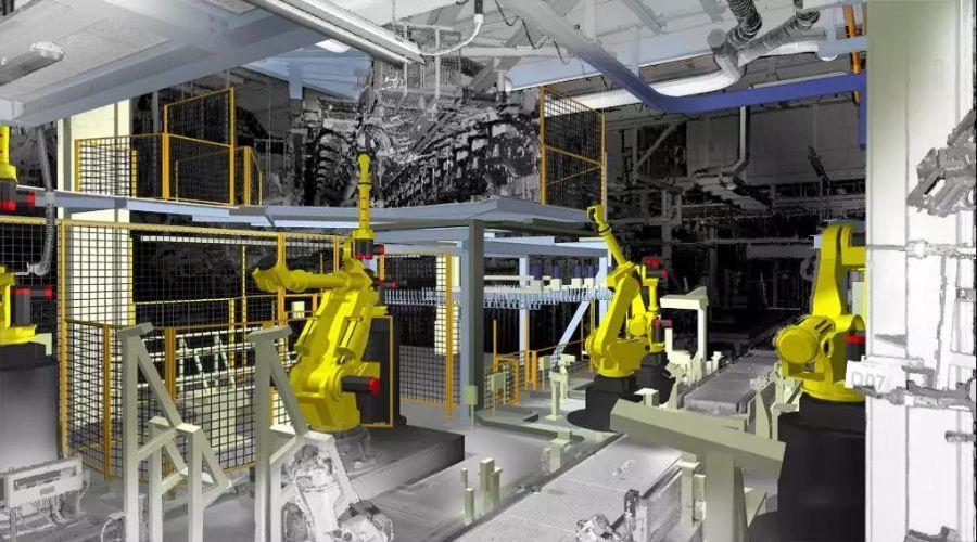 激光扫描用于数字工厂建设激光扫描在数字工厂和工厂...