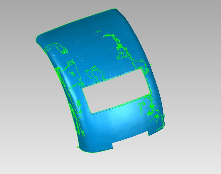 新能源电动汽车车门扫描逆向汽车三维抄数逆向抄数逆向造型设计手持式三维扫描仪全抄数