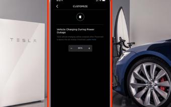 特斯拉Powerwall新功能有效平衡汽车和家庭用电