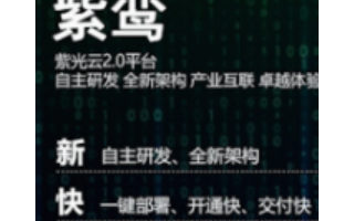 """紫光云2.0平台打造""""新快智简""""的卓越上云新体验"""