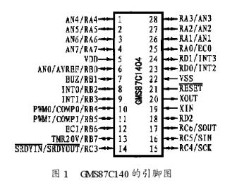 GMS87C1404單片機的特點性能及在干洗機自動控制系統中的應用分析