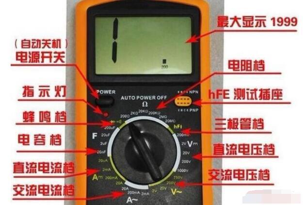 萬用表測量線路短路與斷路及漏電的方法介紹