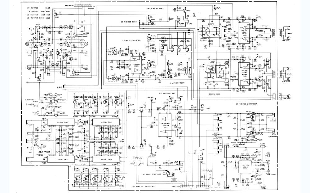 夏普800收录机的维修手册和电路图免费下载