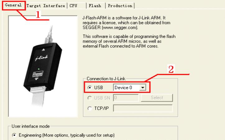 如何使用J-Flash实现调试
