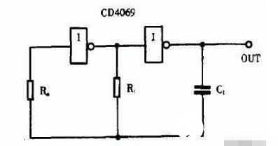 兩款CD4069構成的簡易振蕩電路詳解