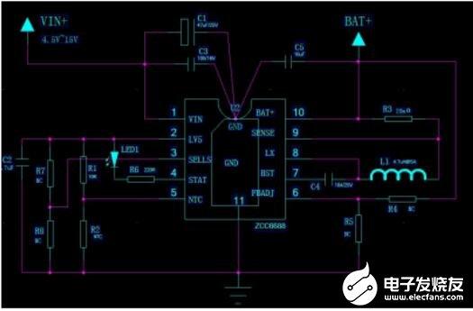 ZCC6688的特點_ZCC6688典型應用電路