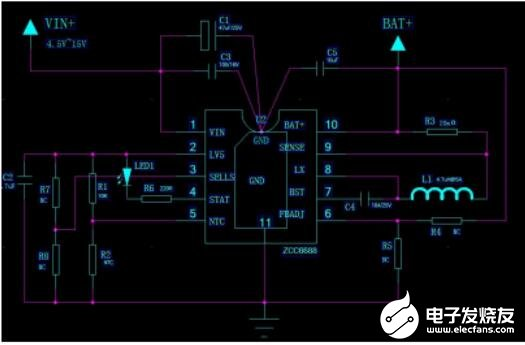 ZCC6688的特点_ZCC6688典型应用电路