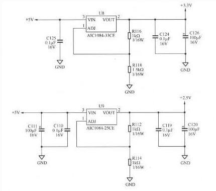 液晶显示器DC/DC变换器电路图