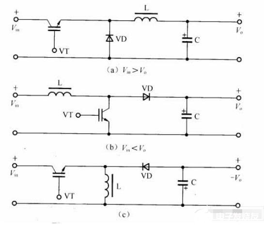 無隔離的DC/DC變換電路圖解析