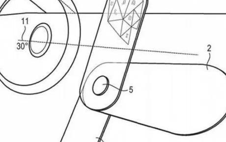 宝马的全新专利曝光,可旋转的OLED屏幕