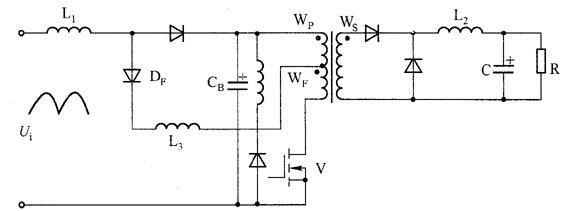 S4PFC正激式转换器电路图