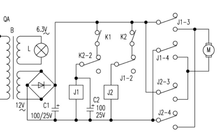 一个实用电动窗帘电路的详细资料讲解