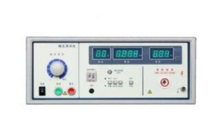 耐電壓測試儀校準電流的方法及安全注意事項
