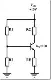 如何計算共射極放大電路的各個參數