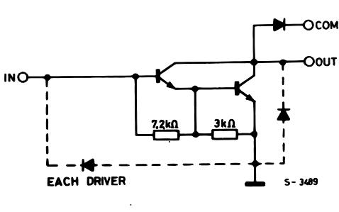 ULN2001A系列步进电机的数据手册免费下载