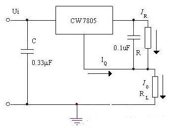 三款三端穩壓器恒流源電路解析