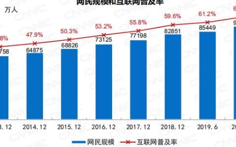 中國網民數破9億其中全國6.5億網民月收入不足5000元