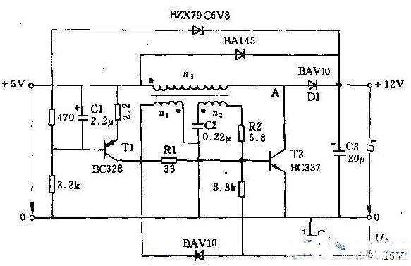 兩款直流電源轉換電路圖解析