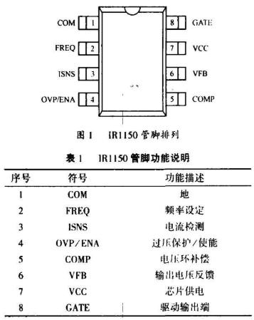 基于IR1150控制芯片实现PFC电路的设计方案