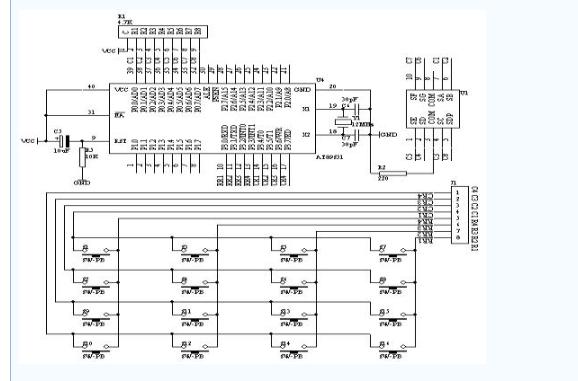 使用單片機設計實現鍵盤的資料和源代碼概述