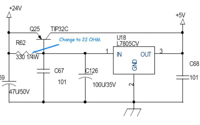 一個經典的三端穩壓器擴流電路詳細講解