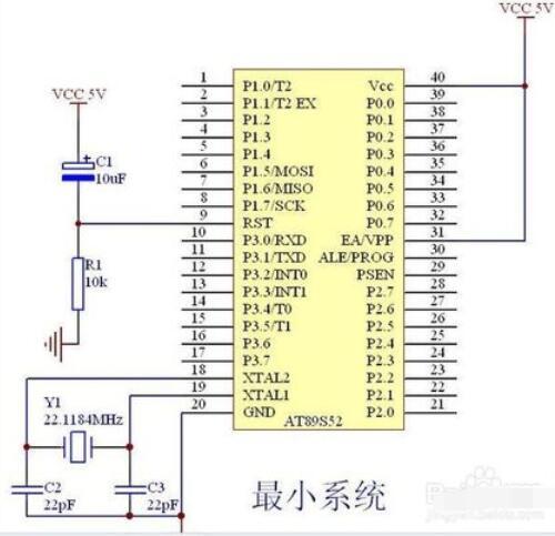单片机最小系统的概念_单片机最小系统怎么画