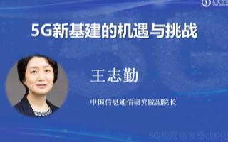 王志勤:5G應用有效助力疫情防控與復工復產,引領數字化智能化改革