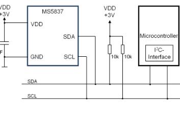 MS5837系列壓力傳感器的數據手冊免費下載