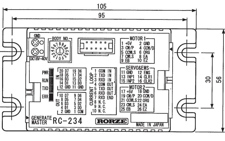 RC-234電機控制器的編譯版使用手冊免費下載
